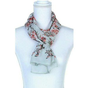 Accessories - New Floral Pattern Sage Oblong Scarf - How lovely!
